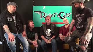 Kärbholz zurück im Riders Cafe...ein kleines Gespräch in unserem wöchentlichen Video bei Facbook