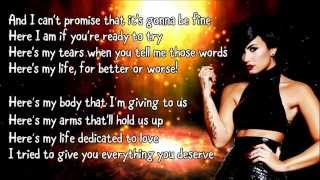 Demi Lovato - Yes (Lyrics)