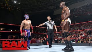 Kalisto vs. Titus O'Neil: Raw, May 29, 2017
