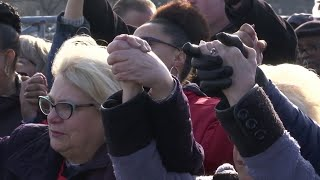 Vigil held for GM workers whose plant is to close