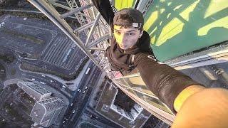 CLIMBING THE SIDEMEN TOWER (ARRESTED)