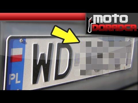 Dlaczego zakrywamy numery rejestracyjne w ogłoszeniach 250 MOTO DORADCA