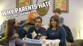 Why parents hate daylight savings