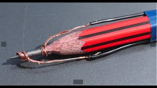Make SOLDERING IRON Using Pencil