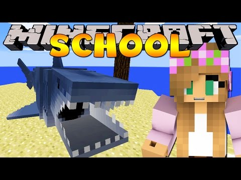 Minecraft School JAWS SHARK FIELD TRIP