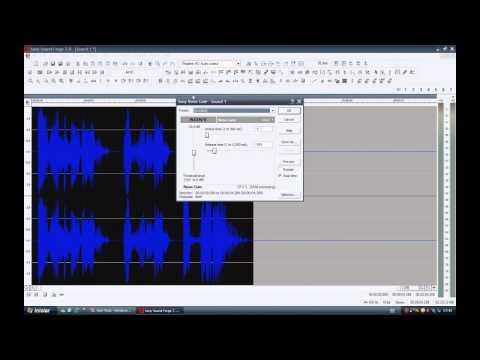Video Aula Sound Forge Efeitos Reverbe Inverso e Pitch