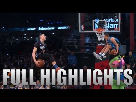 2016 NBA Dunk Contest ALL Zach