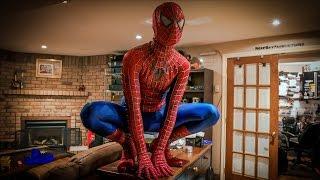 MY SPIDER-MAN SUIT!! (MOVIE REPLICA)