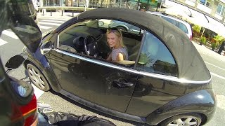 Onboard 2015 Ducati Diavel: WHO IS THAT LADY?
