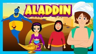 ALADDIN AND THE MAGIC LAMP - Story For Kids || Fairy Tales and Bedtime Story For Children