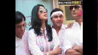 SONY TV CHANNEL'S HOLI CELEBRATION - Saas Bina Sasural