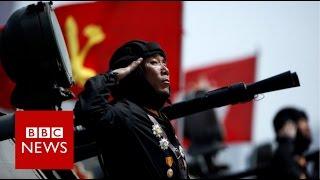 North Korea's military parade  - BBC News