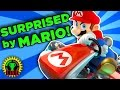 SURPRISED BY MARIO IRL! | Mario Kart 8 Deluxe