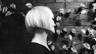how to cut bob for older women with fringe