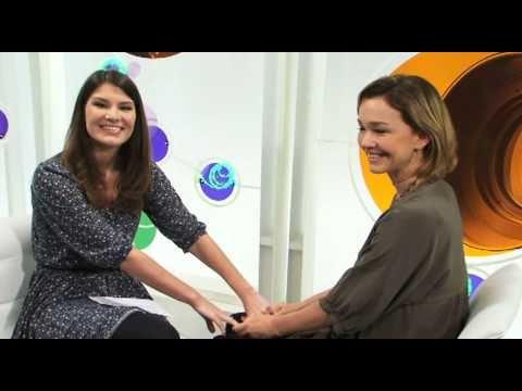 Julia Lemmertz com sua filha Luiza no RCB