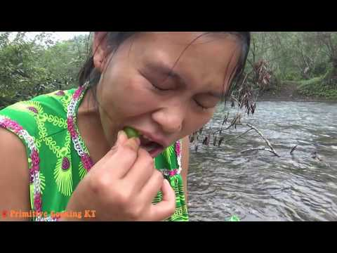 Xxx Mp4 Primitive Technology Survival Skills Catch Big Fish At River And Cooking Fish Eating Delicious 3gp Sex