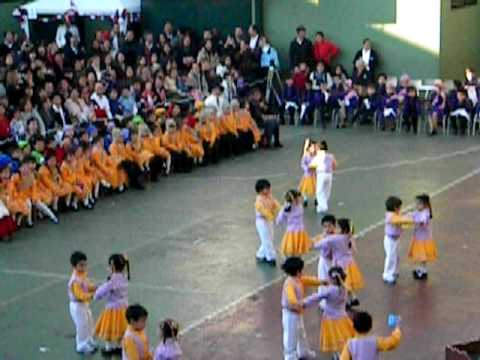 Trote tarapaqueño Play Group A. The Greenland School septiembre 2009