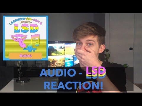 [REACTION] AUDIO | LSD (Labrinth, Sia, Diplo)