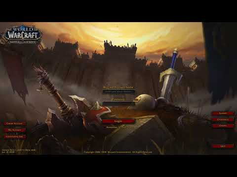 Xxx Mp4 Before The Storm Warcraft Battle For Azeroth Login Screen With Music 3gp Sex
