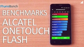 Alcatel Onetouch Flash Benchmarks and Score Comparison