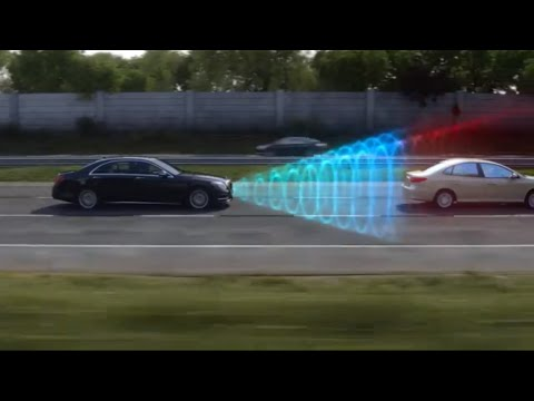 Mercedes Benz Accident Avoidance COLLISION PREVENTION ASSIST PLUS