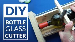 BOTTLE CUTTER machine   -  simplest DIY (adjustable size)