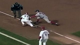 2004 WS Gm3: Red Sox turn two on baserunning miscue