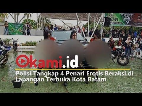 Xxx Mp4 Polisi Tangkap 4 Penari Erotis Beraksi Di Lapangan Terbuka Kota Batam 3gp Sex