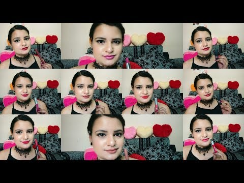MY TOP 10 LIPSTICKS FOR INDIAN SKIN TONE||UNDER Rs 200||Affordable Drugstore Lipsticks