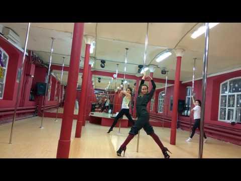Exotic Pole Dance Tutorial - Tatiana Marsheva