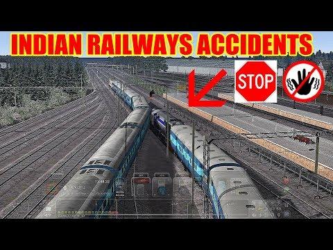 दुर्घटना से देर भली  | Engine Pilot Mistake | Train Accidents Indian Train Simulator