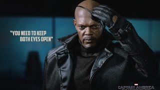 REVIEW : Hottoys NICK FURY Captain America the Winter Soldier [ MMS 315 ]
