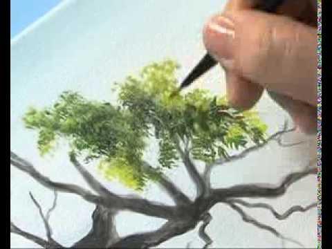 Como pintar un paisaje realista Ana Gjurinovich Bloque II