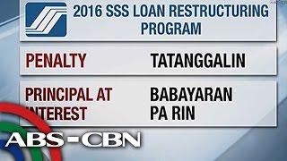 TV Patrol: Loan restructuring program, inilunsad ng SSS