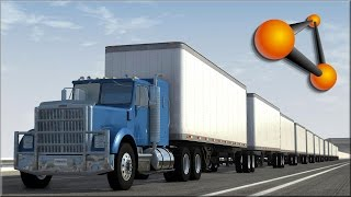 BeamNG Drive Insane Trucking Crashes #1