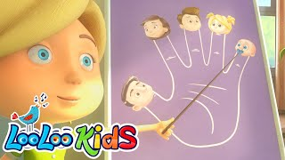 The Finger Family - THE BEST Song for Children | LooLoo Kids