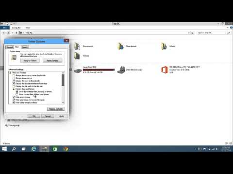 Windows 10 - How To View/Show Hidden Files, Folders and Drives