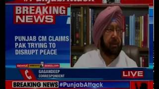 Punjab CM Amarinder Singh claims Pakistan trying to disrupt peace, condems Amritsar attack