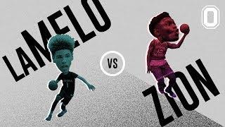 LaMelo Ball & Zion Williamson SHUT DOWN VEGAS! LaMelo BREAKS Ankles & Zion GOES OFF!