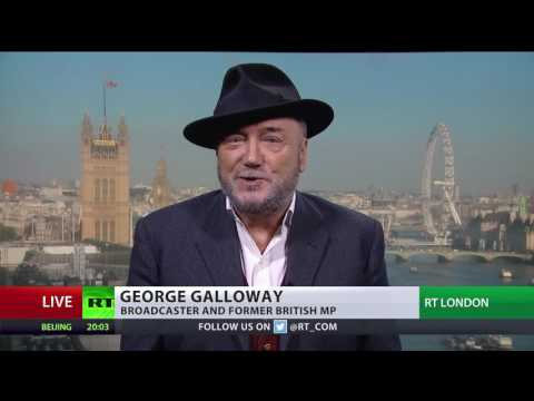 What s next Mr. Putin Invade the Disney channel Galloway on RT C SPAN interruption