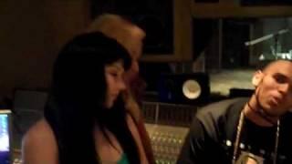 Chris Brown in Studio with Nikki 16