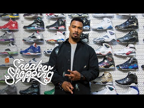 Power's Omari Hardwick Goes Sneaker Shopping With Complex