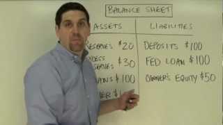 Macro Unit 4, Question 2- Bank Balance Sheet