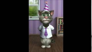 TALKING TOM CAT SINGS HAPPY BIRTHDAY TO DARREN