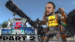 Earth Defense Force 5 Part 2 - Funhaus Gameplay