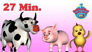 Old MacDonald Had a Farm, Baba Black Sheep & more Rhymes Songs for Children   Mum Mum TV