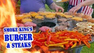 Die Grillshow: Smoke King's Burger & Steaks