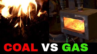 Coal Forge Vs Gas Forge (Different Types of Blacksmith Forges)