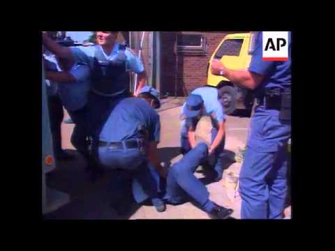 South Africa Police Shootout 1995