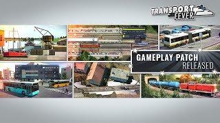 Transport Fever - Gameplay-Patch Video (Deutsch)